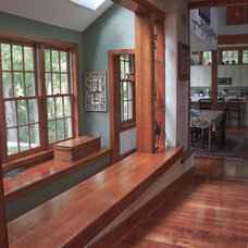 Traditional Hall by Ellen Happ Architect