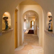 Mediterranean Hall by EcoNest Architecture Inc