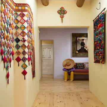 Adobe Walls in Santa Fe, New Mexico