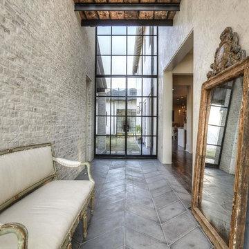 Afton Oaks Custom Home - Transitional Style