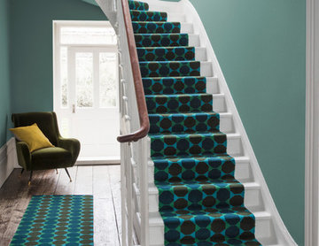 Alternative Flooring - Quirky B Lucienne Day Authentic Octagon Stair Runner