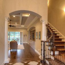 Mediterranean Hall by Reminiscent Homes, LLC.