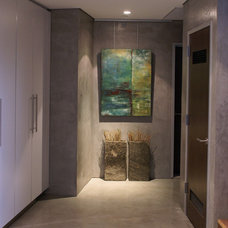Modern Hall by Anita Lewis-Art for modern life
