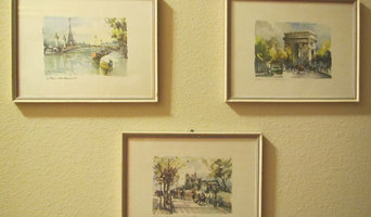 antique french watercolors