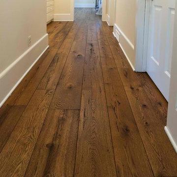 Antique Resawn Oak Hardwood Flooring