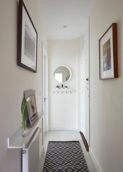 Contemporary Hallway & Landing by houseology