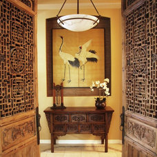 Asian Hall by Lynette Edmonds Interiors