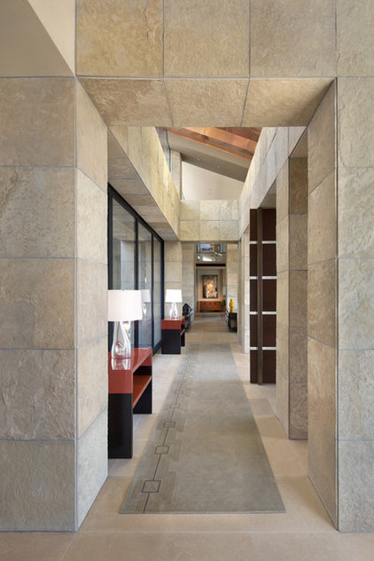 contemporary hall by Swaback Partners, pllc