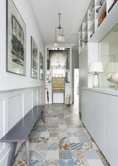 Transitional Hallway & Landing by Zulufish