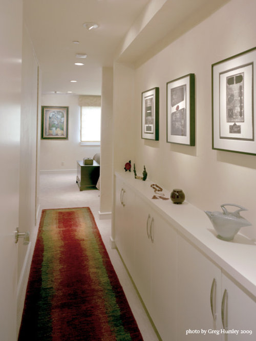 Narrow hallway houzz - Decor corridor ...