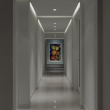 Contemporary Hall by Lighthouse Interiors