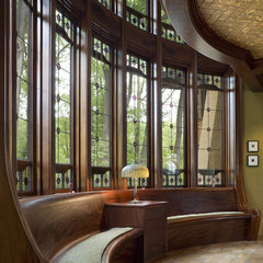 traditional hall by Archer & Buchanan Architecture, Ltd.