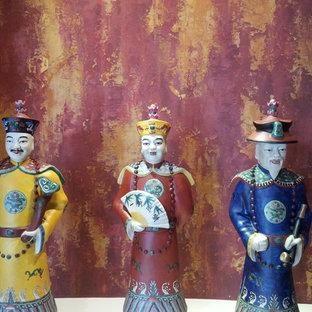 Asian Inspired Art Niche