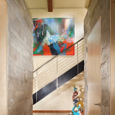 Contemporary Hall by Slifer Designs
