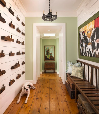 Country Hallway & Landing by M. Barnes & Co