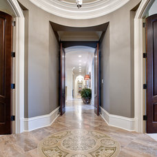 Traditional Hall by Fowler Interiors