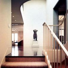 Traditional Hall by BraytonHughes Design Studios
