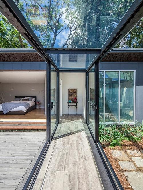 Corridor Roof Design: Glass Corridor Home Design Ideas, Pictures, Remodel And Decor