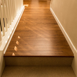 Bamboo Flooring & Carpeted Stairs - San Jose, CA