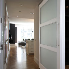 Contemporary Hall by Supa Doors