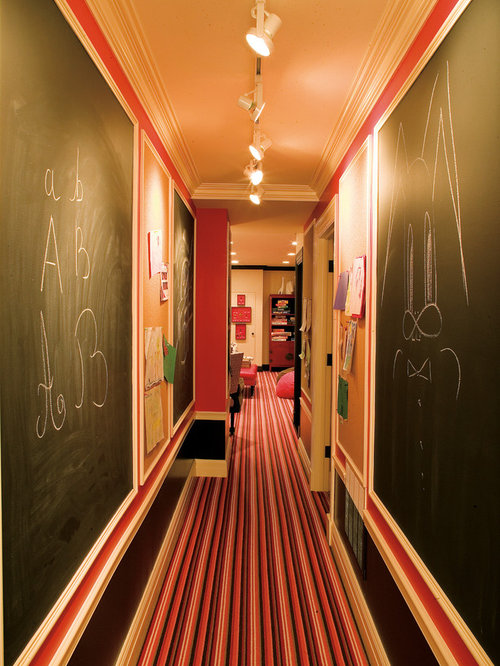Long Hallway Home Design Ideas, Pictures, Remodel and Decor
