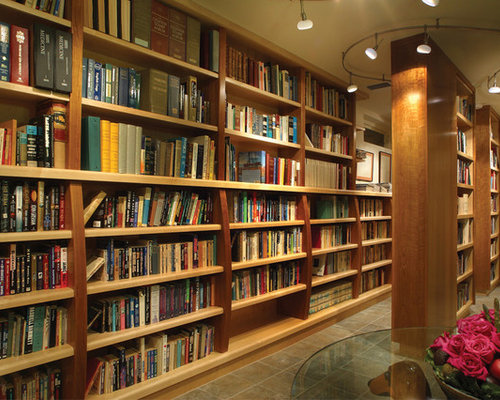 Best Basement Library Design Ideas Amp Remodel Pictures Houzz