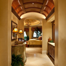 mediterranean hall by Kurtz Homes Naples