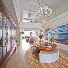 Beach Style Hall Beach Style Hall