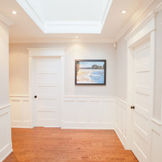 Beach Style Hall by Carick Home Improvements