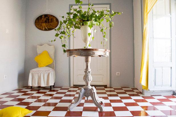Mediterráneo Recibidor y pasillo by Casa Josephine