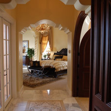 Mediterranean Bedroom by Hyatt Design, Inc.