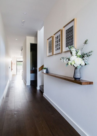 Contemporary Hallway & Landing by Bask Interiors