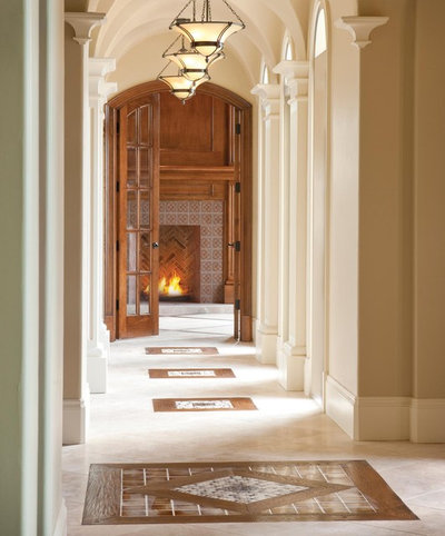 American Traditional Corridor by Bentley Premier Builders