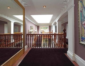 Bespoke carpet runner to country mansion