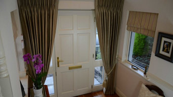 Bespoke Curtains For Front Door in Dalkey