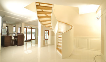 Bespoke Staircase and Wood Panelling.