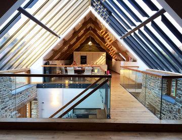 Bespoke Staircase - Barn Conversion Cornwall
