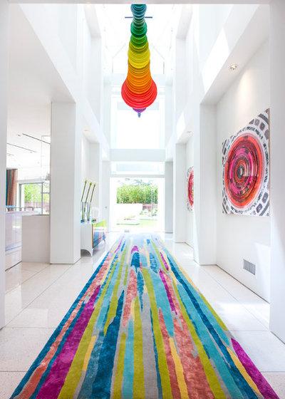 Contemporain Couloir by Crespo Design Group