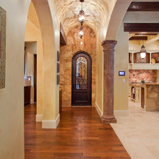Mediterranean Hall by Sendero Homes