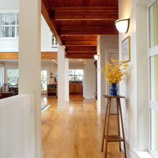 Traditional Hall by Dan Nelson, Designs Northwest Architects