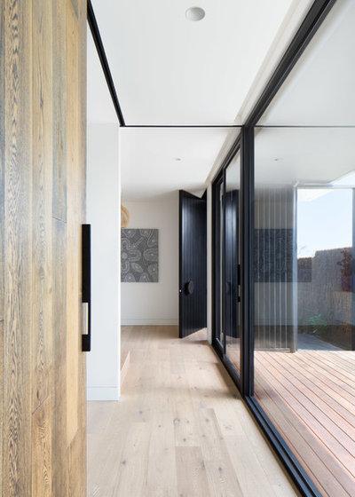 Contemporary Hall by Meraki Creative