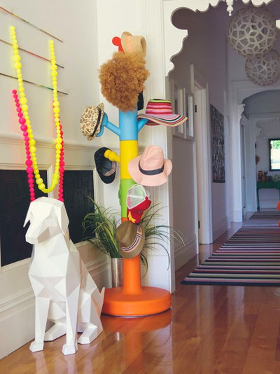 Eclectic Hall by Alex Fulton Design
