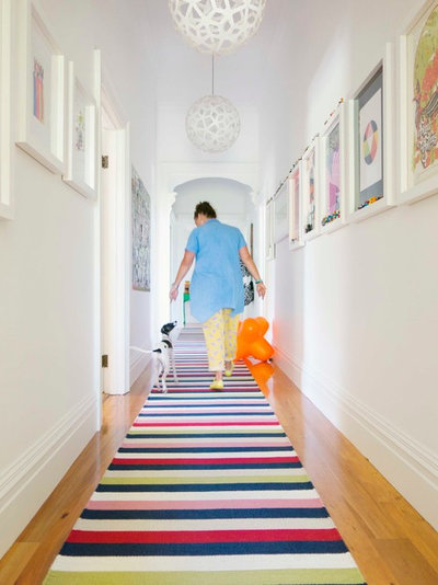 Contemporary Hallway & Landing by Alex Fulton Design
