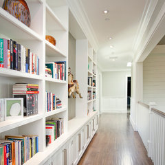 contemporary hall by White Picket Fence, Inc
