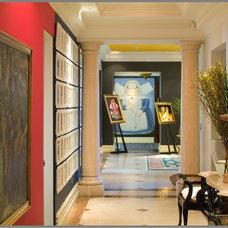Mediterranean Hall by Tracy Murdock Allied ASID