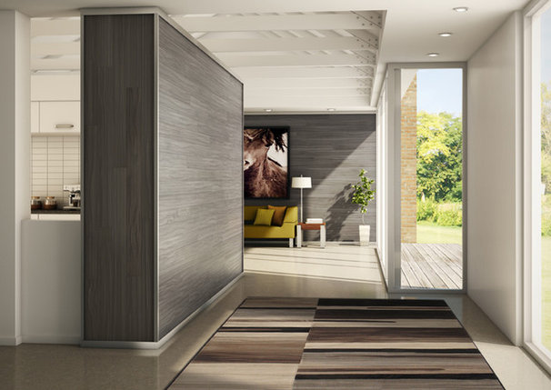Modern Hall by Alexanian Carpet & Flooring