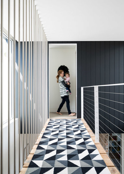 Contemporary Hallway & Landing by Carmen Parker Styling