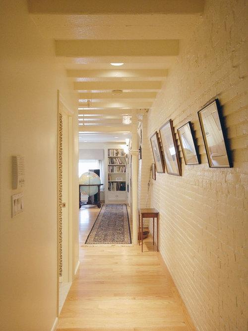 H Newton Associates Painted Brick Steps | ...