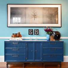 eclectic hall by Kati Curtis Design