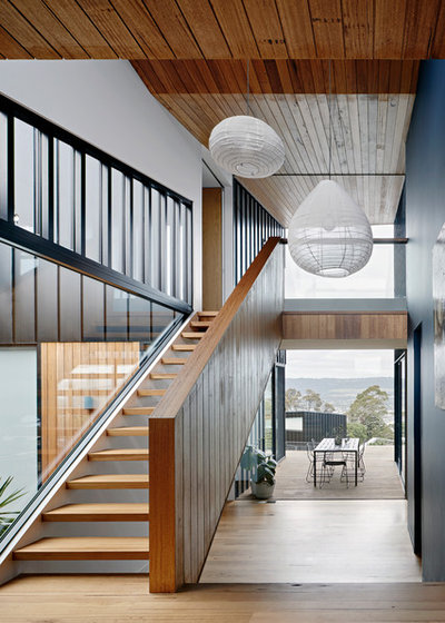 Contemporary Hall by Clancy Constructions